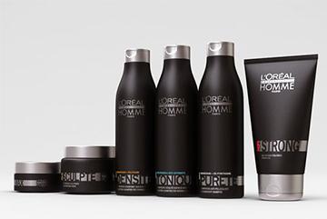 Косметика для мужских волос L`Oreal Homme