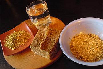 Ингредиенты хлебной маски для волос