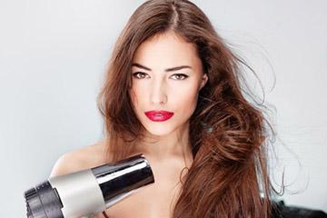 Использование фена для волос