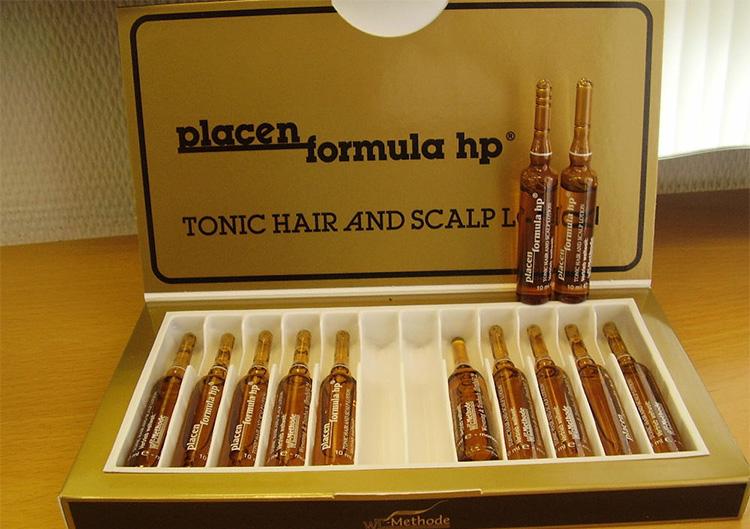 Плацент формула против выпадения волос