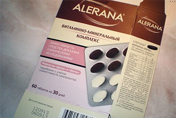 Alerana - витамины для волос