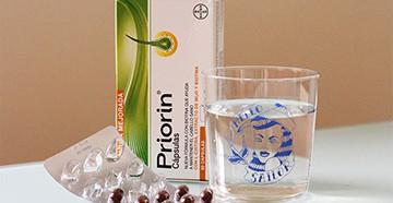 Priorin препарат для локонов