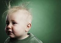 У малыша выпадают волосы