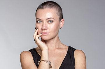 Короткая стрижка перед химиотерапией