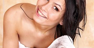 Мытье жирных волос