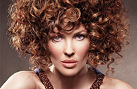 Технология завивки волос
