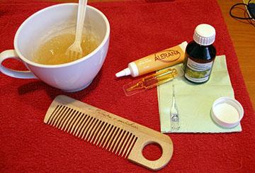 Желатиновое восстановление волос