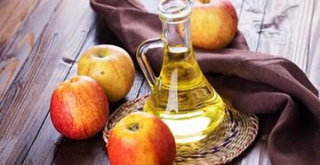 Яблочный уксус для локонов