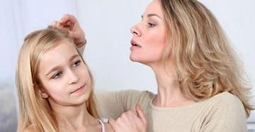 Выпадение волос у ребенка