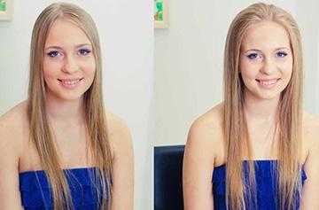 Объем на жидких волосах