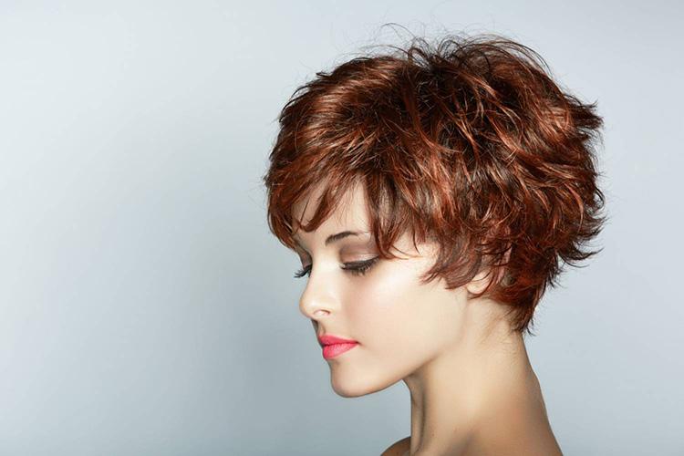 Стрижка на короткий тонкий волос