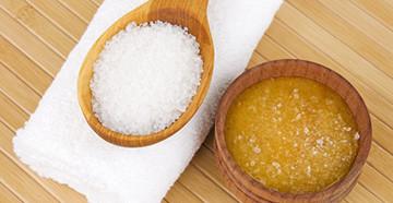 соль с маслом для волос