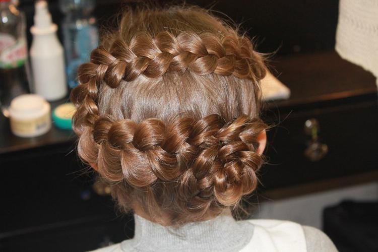 Коса наискосок