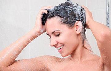 Применение шампуня