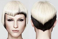 Окрашивание коротких волос