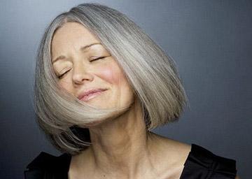 Раннее поседение волос у женщин