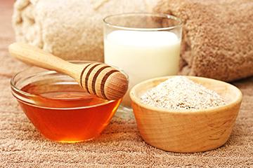 Дрожжи, кефир и мед