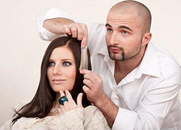 Выбор оттенка волос