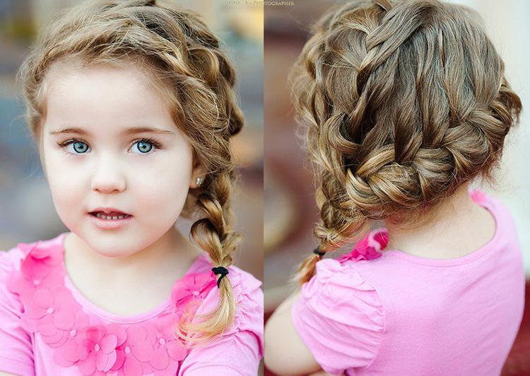 Коса для девочек