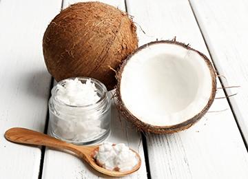 Твердое масло кокоса