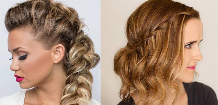 Плетение волос